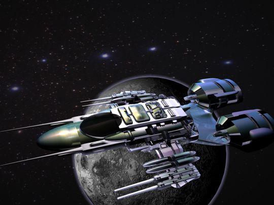 Orbital fighter